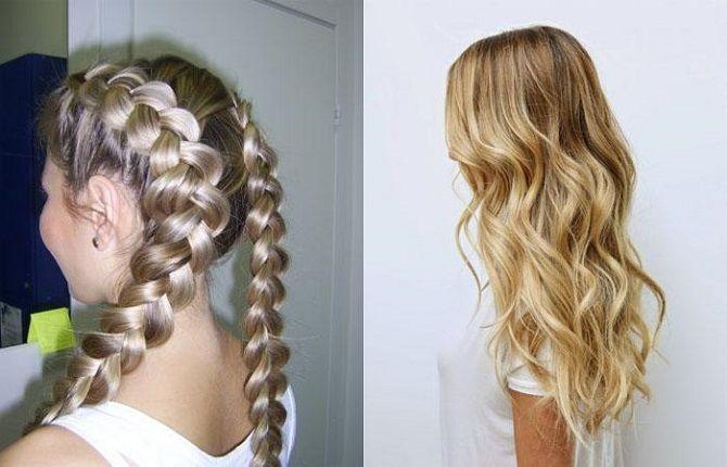 Curls deliciosos: 9 Métodos de ondulação em casa 16