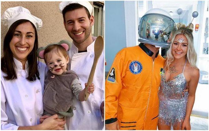 Trang phục Halloween với bàn tay của riêng bạn: Tùy chọn đơn giản và ngân sách cho cả gia đình 15