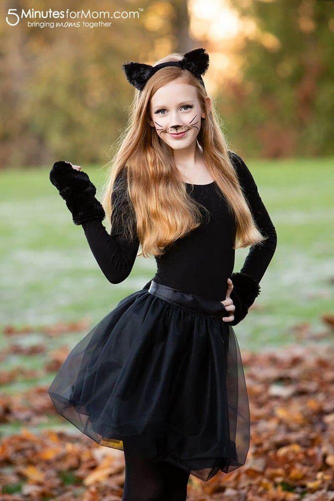 Halloween kostume med dine egne hænder: enkle og budgetmæssige muligheder for hele familien 17