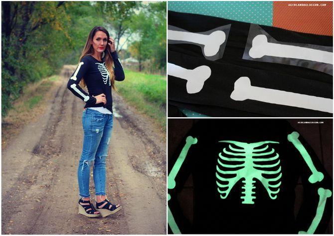 Trang phục Halloween với bàn tay của riêng bạn: Tùy chọn đơn giản và ngân sách cho cả gia đình 7
