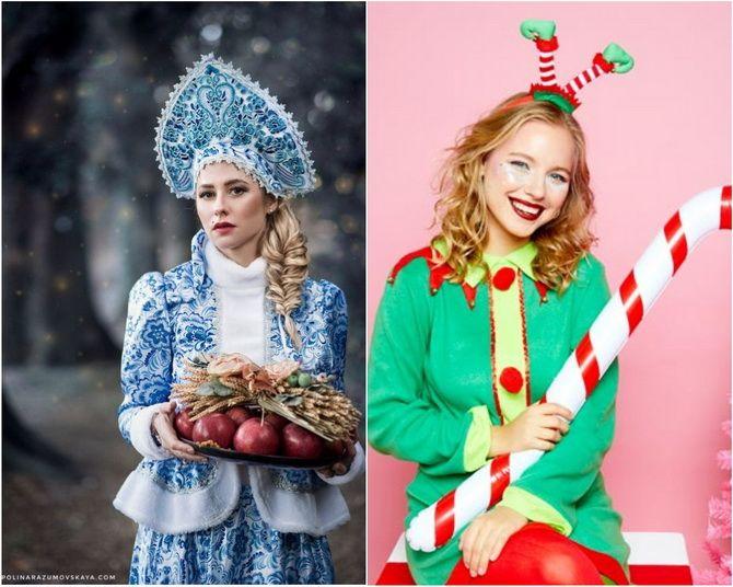 Komik, Yaratıcı veya Seksi: 2021 6'da ne tür bir Yeni Yıl kostümü seçin