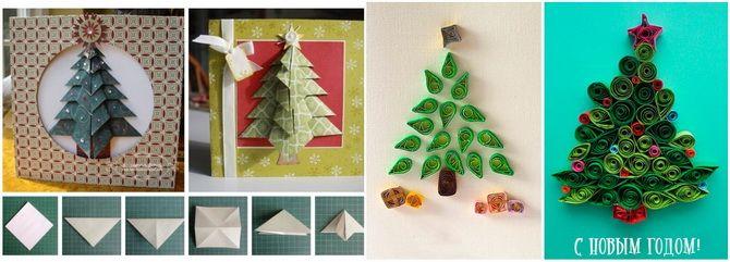 Өз қолыңызбен жаңа жылдық ашықхаттар жасаңыз: Қарапайым семинарлар 14