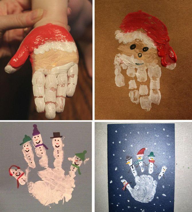 کارت پستال های سال نو را با دستان خود ایجاد کنید: کارگاه های ساده 2