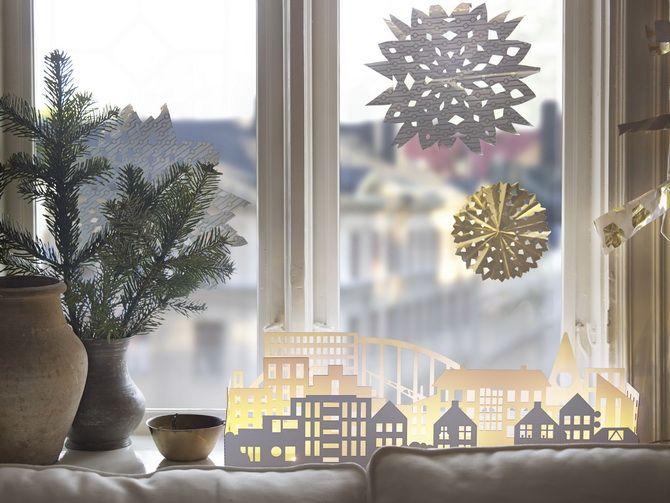 Новогодний домик – поделка своими руками 10
