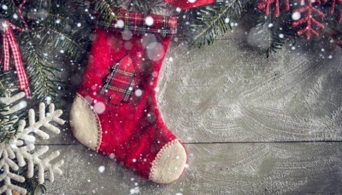 Hogy az újév zoknit saját kezével 1