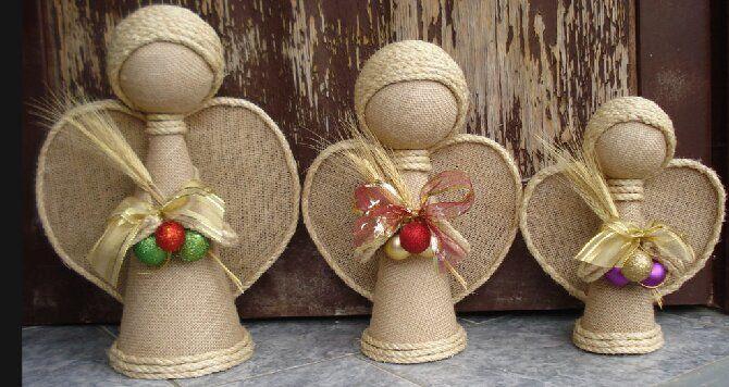 Новогодние ангелочки своими руками: простые мастер-классы на фото и видео, подборка идей от Joy-pup 25