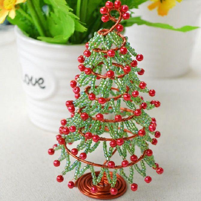 Cum să faci un copac de Crăciun neobișnuit pentru noul an 2021: idei cool cu fotografia 3