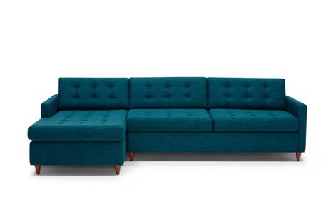 All Sofas and Sectionals   Joybird Quick Ship   Quick View      Eliot Sleeper Sectional