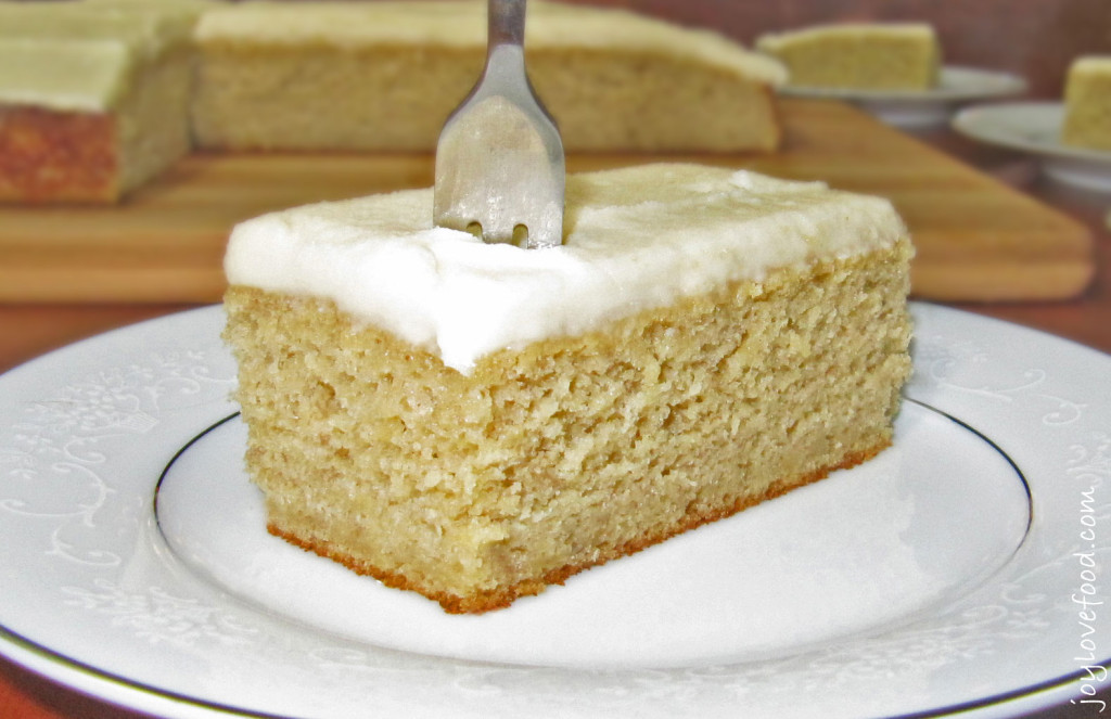 Banana Cake Brown Sugar Frosting