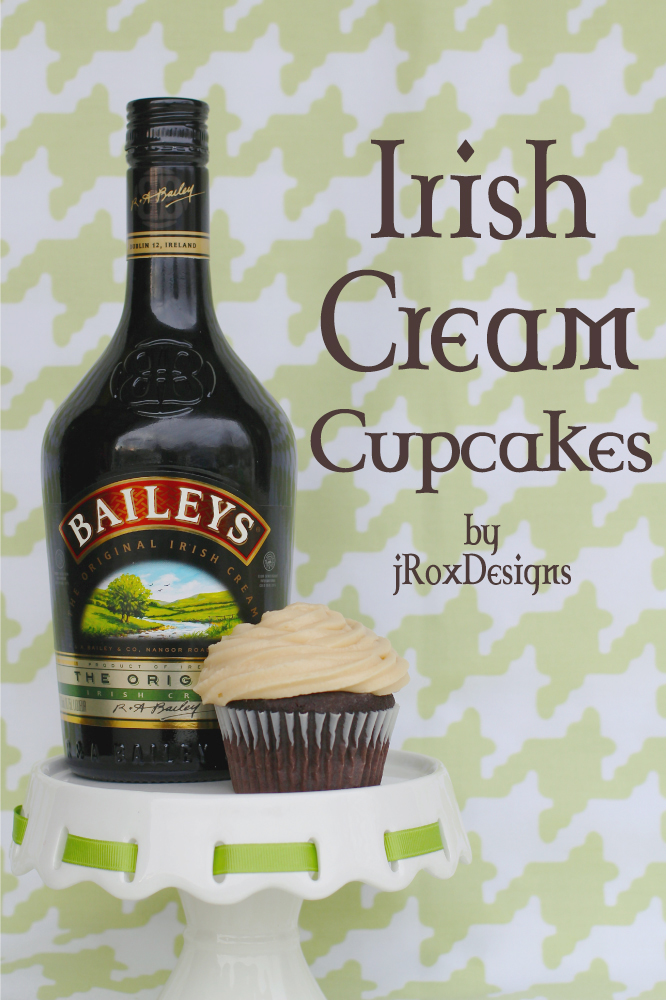 Baileys Irish Cream Cucpakes Jroxdesigns