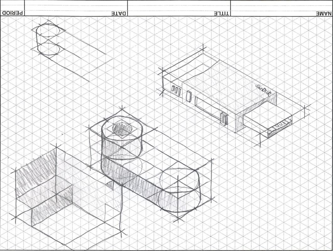 Isometric sketch dorit mercatodos co