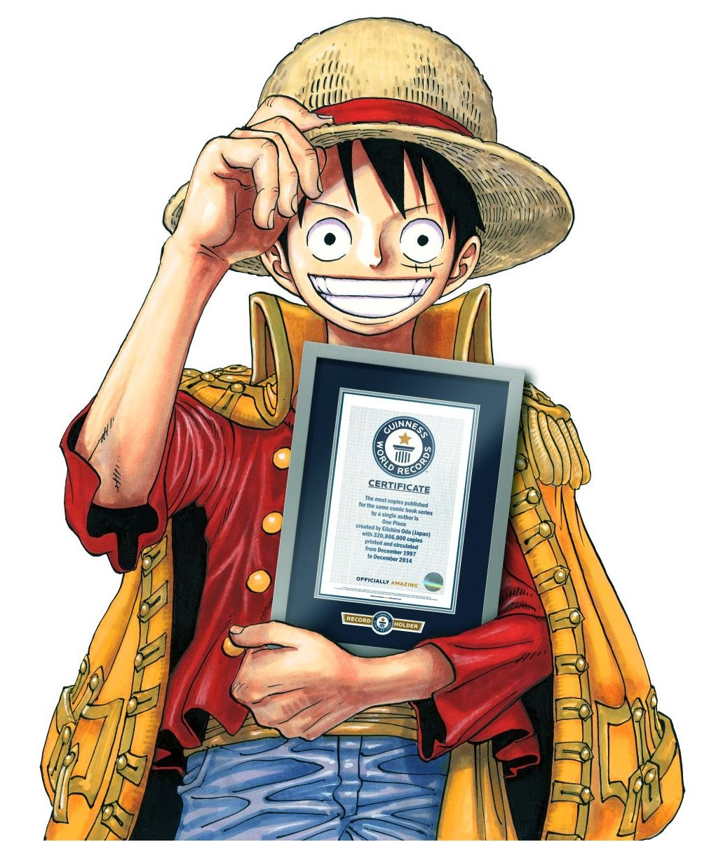 'One Piece' sets Guinness World record for manga | The ...