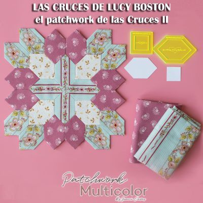 Lucy Boston el Patchwork de las Cruces POT 2 parte