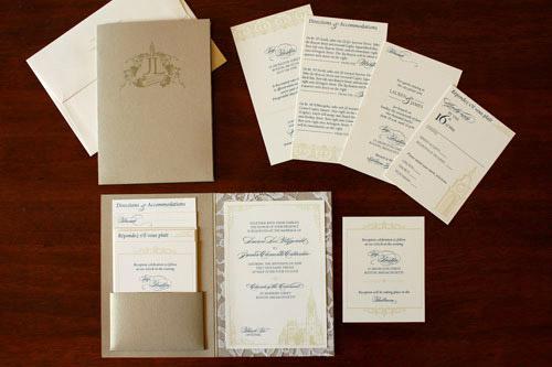 Custom Designed Wedding Invitations