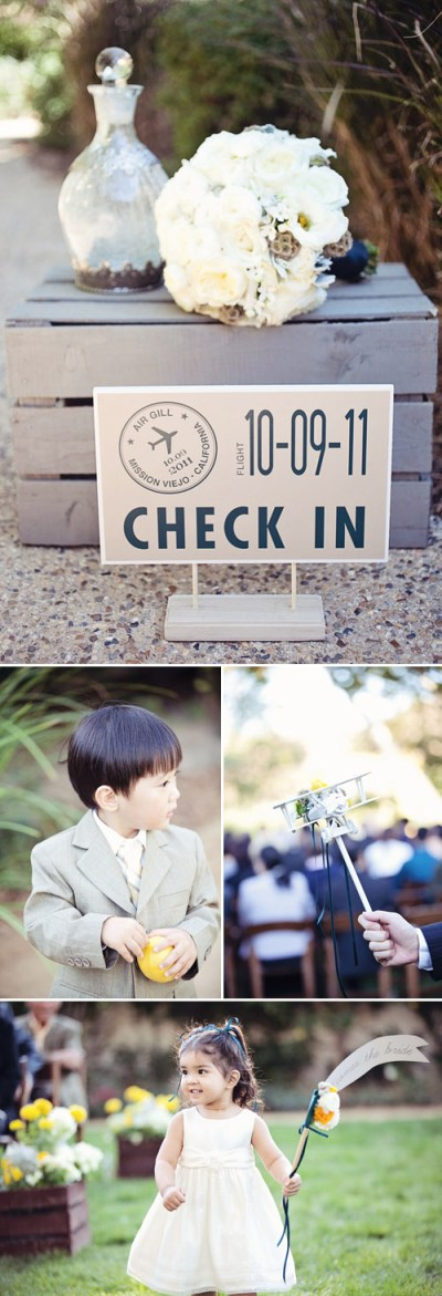 Vintage Airplane Themed Wedding in Mission Viejo CA ...