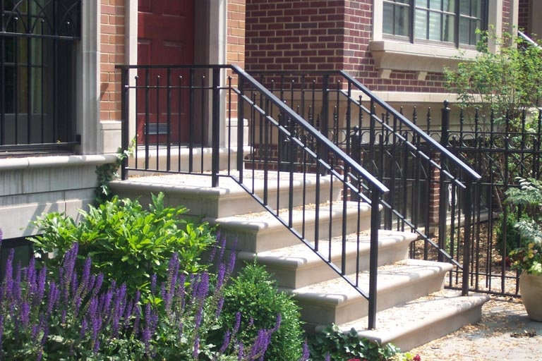 How To Remove Wrought Iron Railings | Iron Handrails For Outside Steps | Railing Systems | Front Porch | Aluminum Railing | Deck Railing