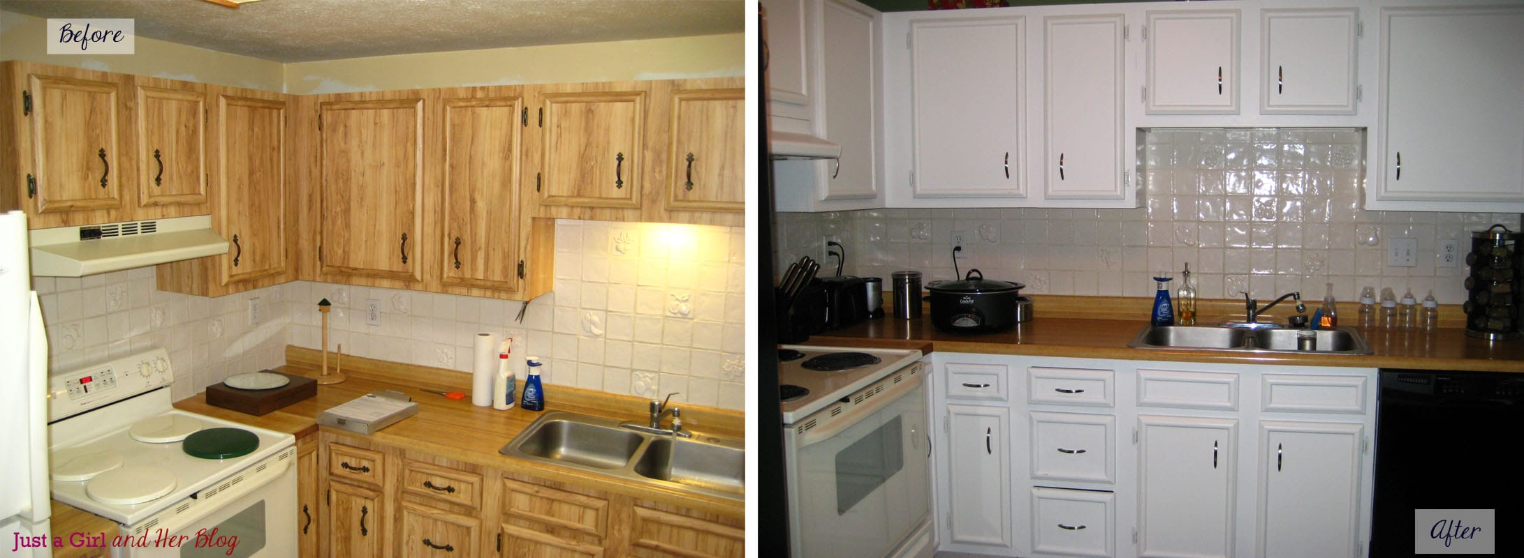 Streamlining a Small Kitchen in Three Easy Steps Painting Before and After edited 1