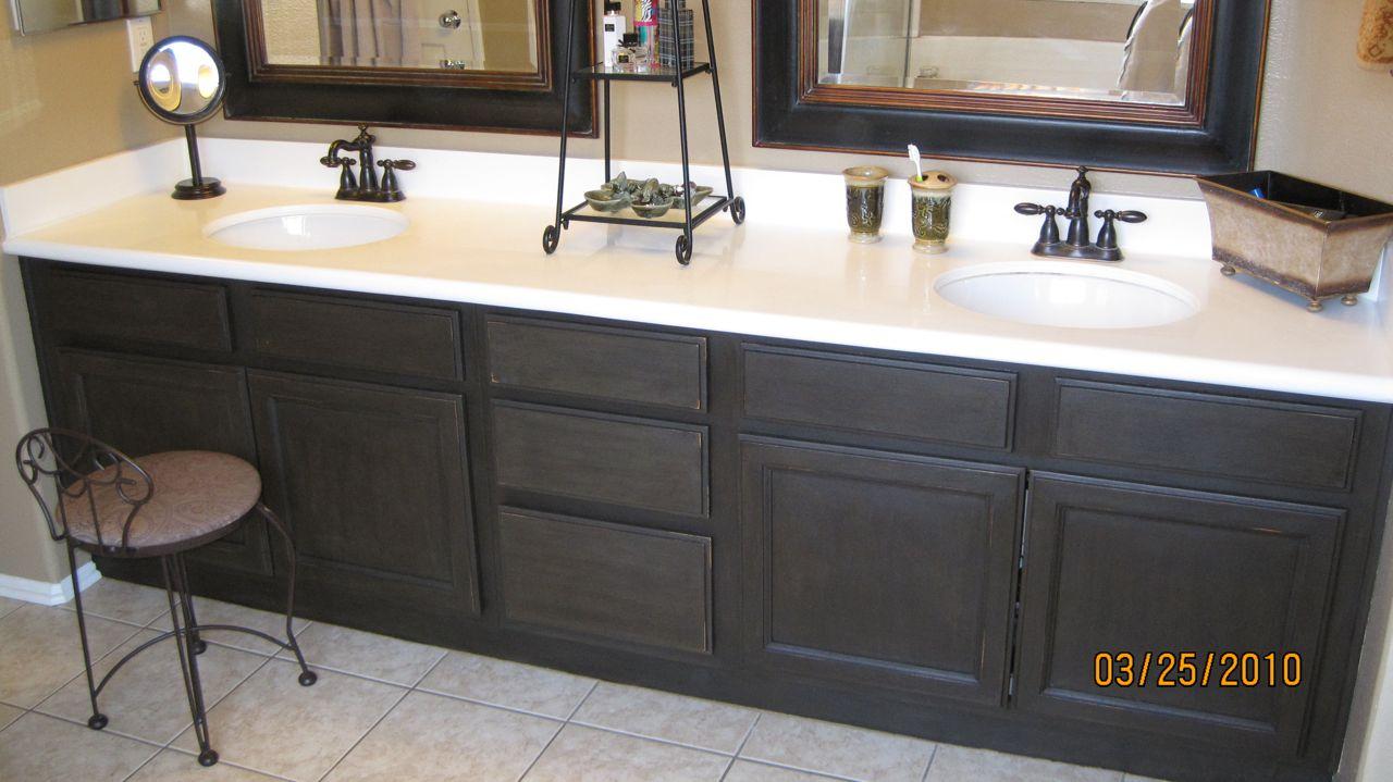 Refinish Bathroom Cabinets Easy Artisan