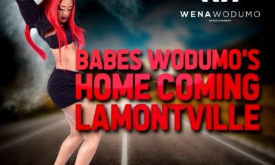 Babes Wodumo headed to Lamontville, Durban, for a homecoming performance