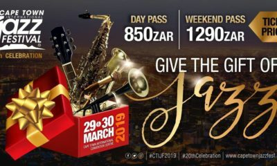 20th Annual Cape Town International Jazz Festival to take place in March 2019