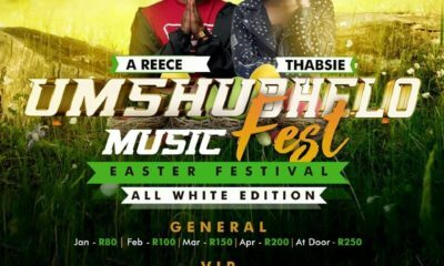 A-Reece and Thabsie added to Umshubhelo Fest line-up