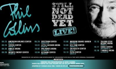 Phil Collins adds a North American leg to his Still Not Dead Yet tour