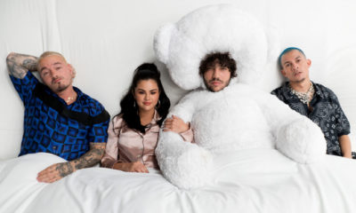 Listen to Benny Blanco, Tainy, Selena Gomez and J Balvin's I Can't Get Enough