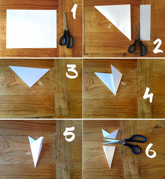 Hur man skär papper snöflingor: mer än 120 steg-för-steg-kretsar och mönster för skärning