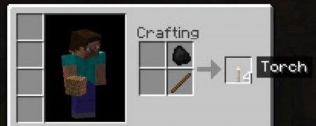Как создать факел в Майнкрафт