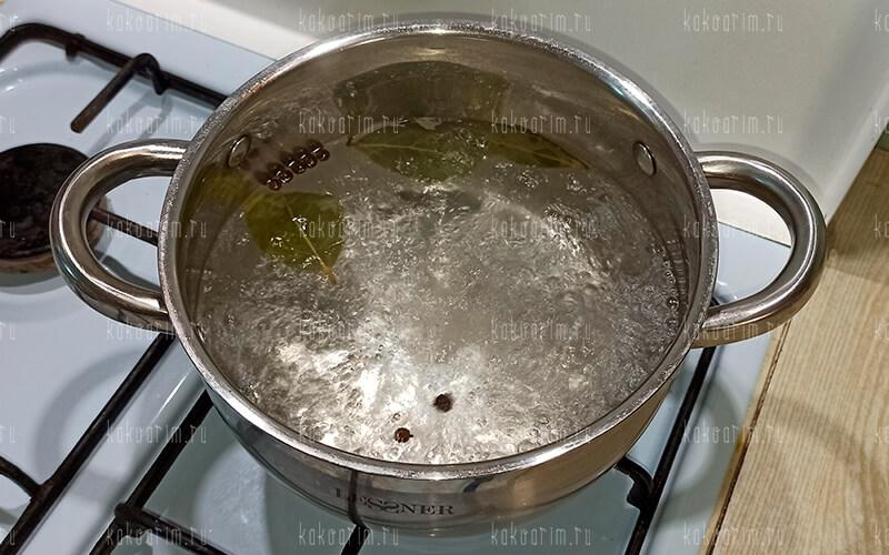 Фото4 Как варить креветки