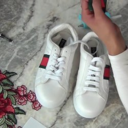 41029e908 Diy How To Get The Gucci Embroidered Sneakers For Way Less Than The