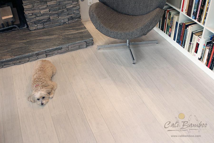 Distressed Bamboo Hardwood Flooring