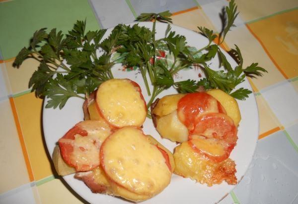 Мясо по-французски с картошкой: 7 рецептов приготовления мяса в духовке этап 31