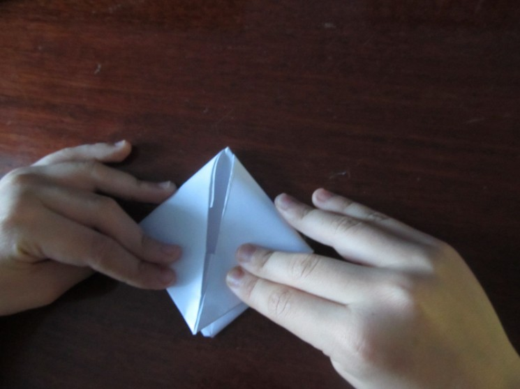 How to make a boat from paper? Instruction folding paper boat do it yourself step 24