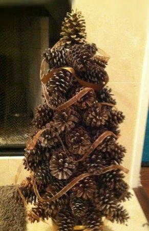 Árvore de Natal com as mãos para o ano novo e # 8212; Ideias fotográficas e mestres estágio de classes 37