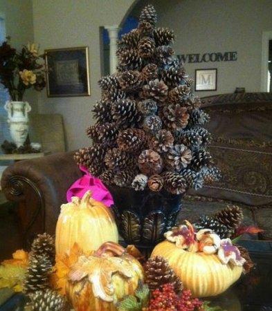 Χριστουγεννιάτικο δέντρο με τα χέρια σας για το Νέο Έτος & # 8212; Ιδέες φωτογραφιών και κύρια μαθήματα Στάδιο 31