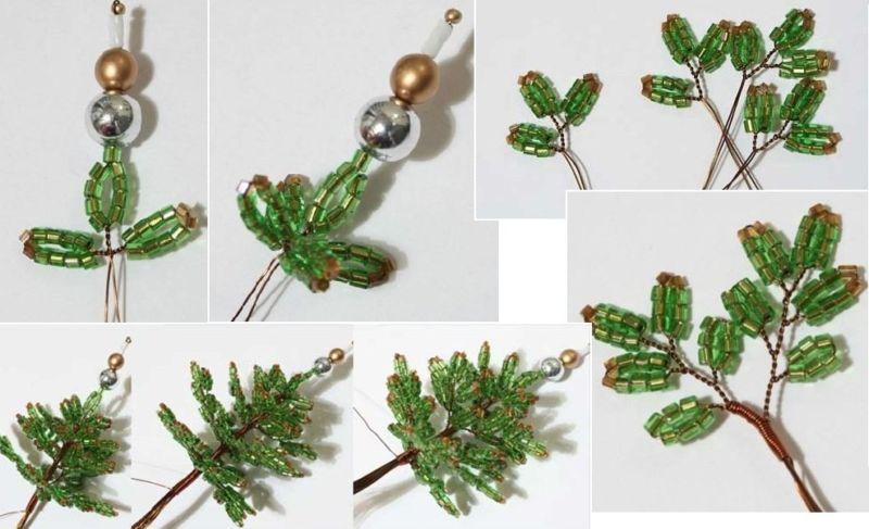 Жаңа жылдық шыршасы бар жаңа ағаш & # 8212; Фото идеялар және шеберлік сабақтары 10-кезең