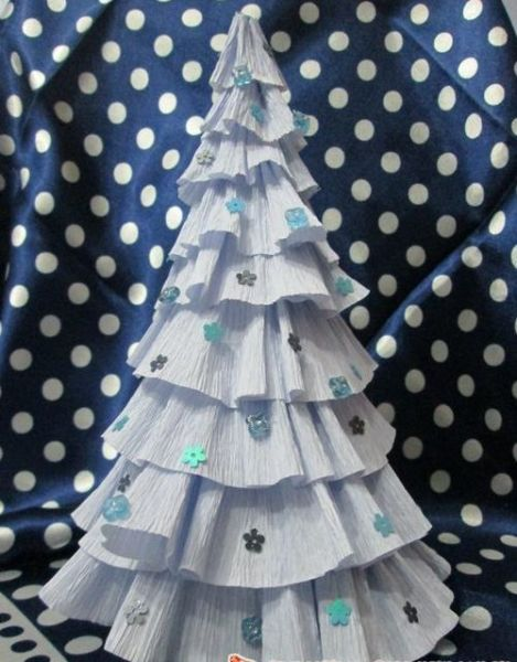 DIY Christmas tree for New Year & # 8212; photo ideas and master classes stage 74