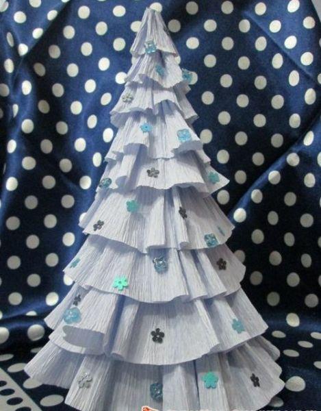 DIY juletræ til nytår & # 8212; fotoideer og mesterklasser trin 74