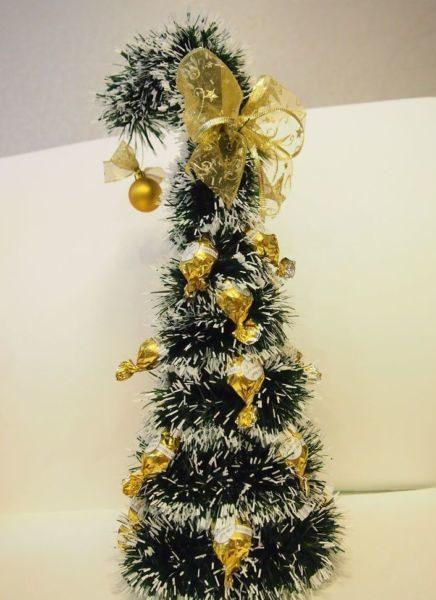 Árvore de Natal com as mãos para o ano novo e # 8212; Ideias fotográficas e mestres estágio 72