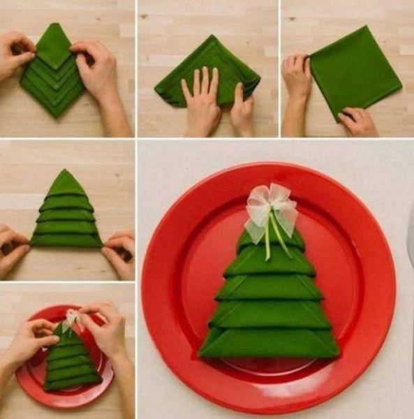 DIY juletræ til nytår & # 8212; fotoideer og mesterklasser trin 117