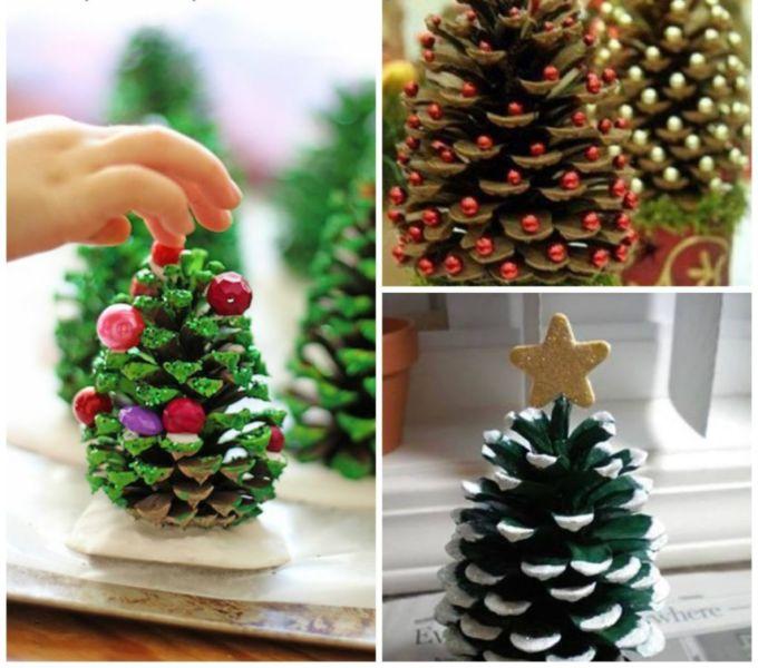 Χριστουγεννιάτικο δέντρο με τα χέρια σας για το Νέο Έτος & # 8212; Ιδέες φωτογραφιών και κύρια μαθήματα Στάδιο 52