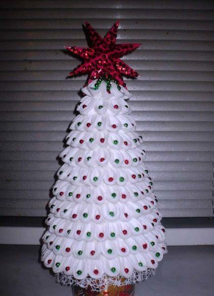 Χριστουγεννιάτικο δέντρο με τα χέρια σας για το Νέο Έτος & # 8212; Ιδέες φωτογραφιών και Master Classes Στάδιο 122