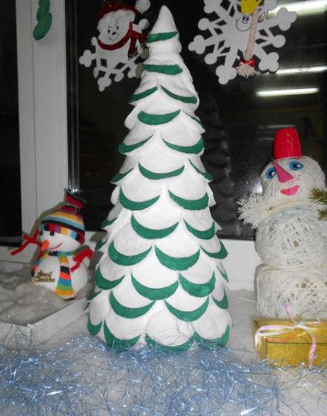 Árvore de Natal com as mãos para o ano novo e # 8212; Ideias fotográficas e mestres estágio de classes 124