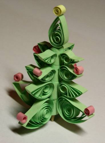 DIY Christmas tree for New Year & # 8212; photo ideas and master classes stage 96