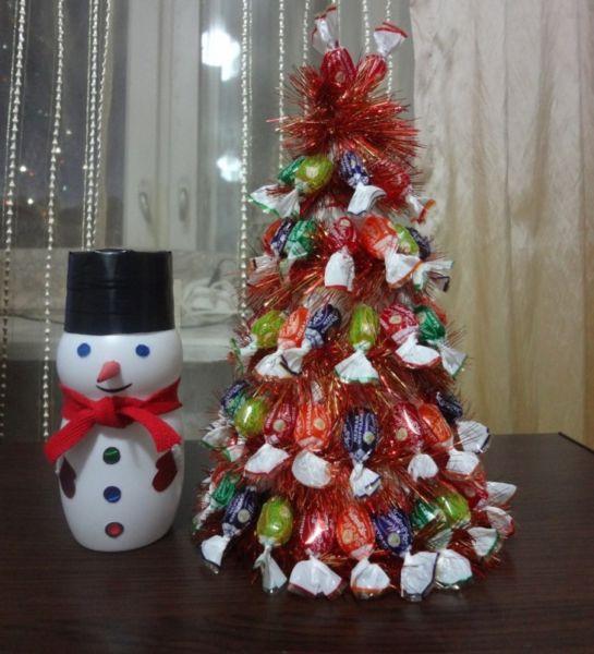 Χριστουγεννιάτικο δέντρο με τα χέρια σας για το Νέο Έτος & # 8212; Ιδέες φωτογραφιών και κύρια μαθήματα Στάδιο 142