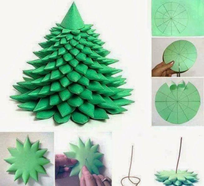 Árvore de Natal com as mãos para o ano novo e # 8212; Ideias fotográficas e Master Classes Stage 17