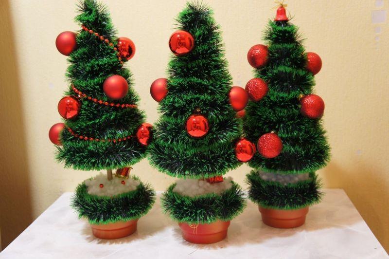 Χριστουγεννιάτικο δέντρο με τα χέρια σας για το Νέο Έτος & # 8212; Ιδέες φωτογραφιών και Master Classes Στάδιο 7