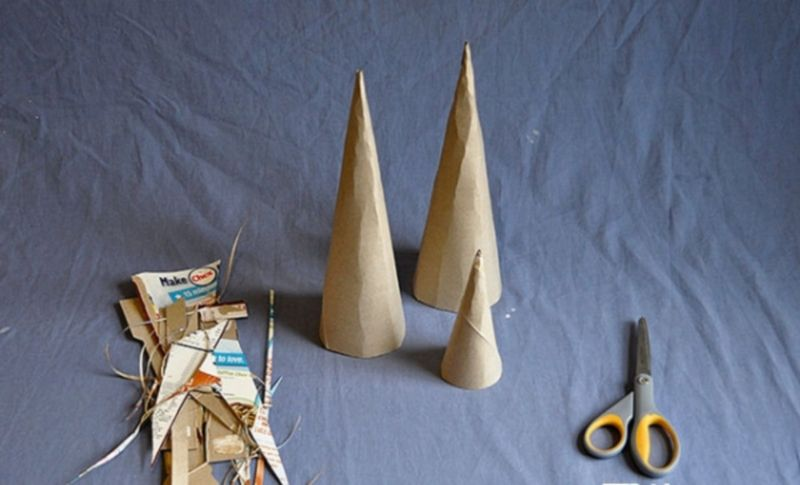 DIY Christmas tree for New Year & # 8212; photo ideas and master classes stage 43