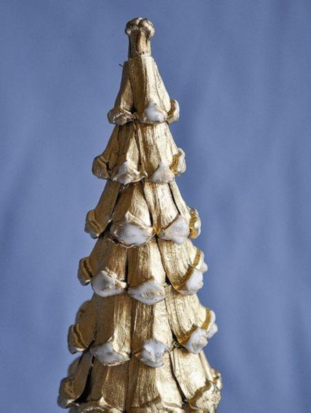 Árvore de Natal com as mãos para o ano novo e # 8212; Ideias fotográficas e aulas master classes 47